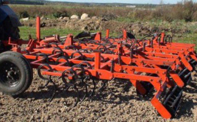 для сплошной обработки почвы КПМ-8