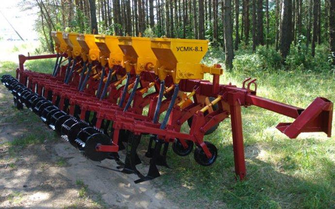 Культиватор для междурядной обработки почвы усмк-8.1 по договорной