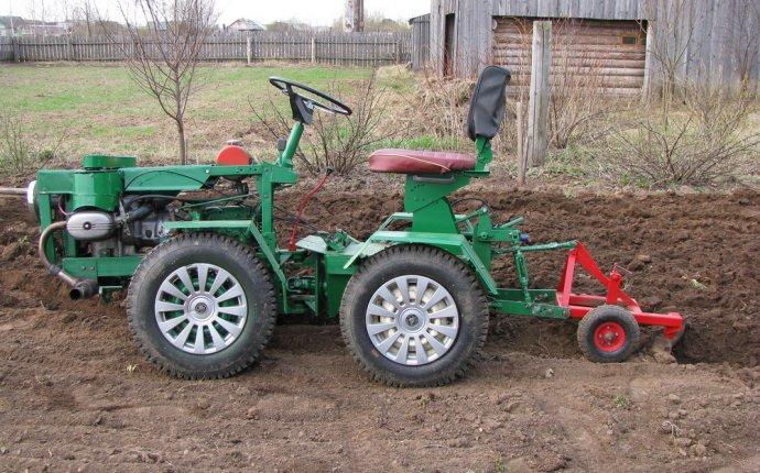 Самодельные трактора,мотоблоки. | Страница 7 | .SNOWMOBILE.RU